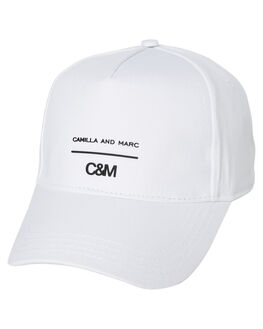 WHITE WOMENS ACCESSORIES C&M CAMILLA AND MARC HEADWEAR - VCMA138WHI