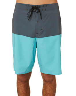 MAUI BLUE BLOCK MENS CLOTHING OUTERKNOWN BOARDSHORTS - 1810027MBK