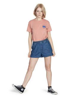 ROSE DAWN WOMENS CLOTHING QUIKSILVER TEES - EQWKT03017-MKB0