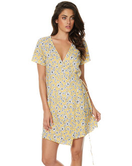 GOLDEN WILDFLOWER WOMENS CLOTHING RUE STIIC DRESSES - JA1724PGLD