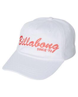 WHITE KIDS GIRLS BILLABONG HEADWEAR - 5682302WHT
