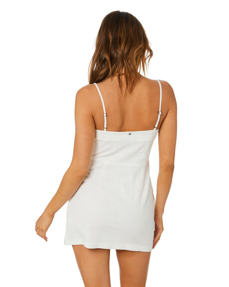 WHITE WOMENS CLOTHING RUSTY DRESSES - DRL1076WHT