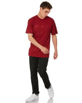 TERRACOTTA MENS CLOTHING HUF TEES - TS00380-TRCTA