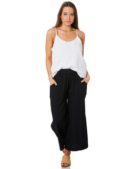 BLACK WOMENS CLOTHING RIP CURL PANTS - GPAET10090