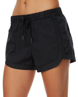 BLACK WOMENS CLOTHING ALL ABOUT EVE SHORTS - 6080021BLK