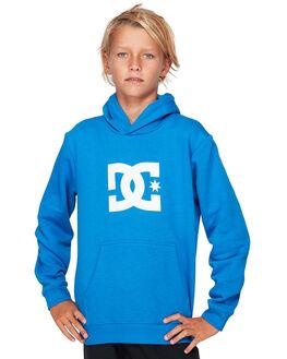 NAUTICAL BLUE KIDS BOYS DC SHOES JUMPERS + JACKETS - EDBSF03087-BQR0