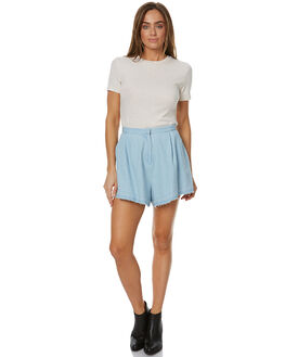 WASHED DENIM WOMENS CLOTHING THE FIFTH LABEL SHORTS - TX170529PDEN