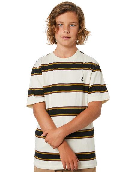 PRIMER WHITE KIDS BOYS VOLCOM TOPS - C0132003PWT