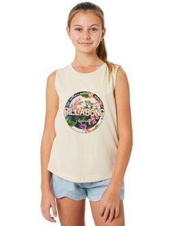 WHITE SWAN KIDS GIRLS BILLABONG TOPS - 5582184WHS