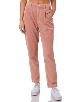 DUSTY PINK WOMENS CLOTHING ROLLAS PANTS - 13152501