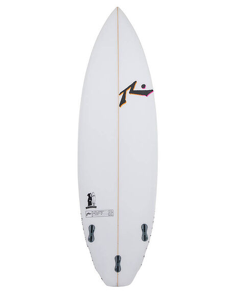 CLEAR BOARDSPORTS SURF RUSTY SURFBOARDS - RUGRIMRIPPERCLR