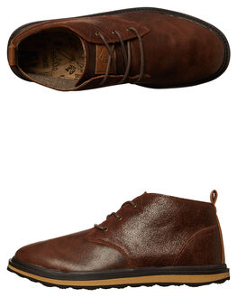 BROWN MENS FOOTWEAR FREEWATERS BOOTS - MO027BRN