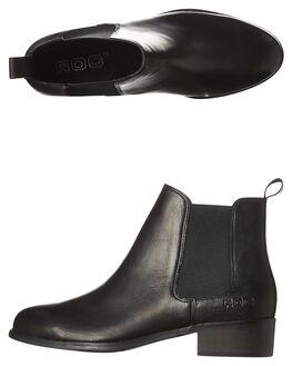 BLACK WOMENS FOOTWEAR ROC BOOTS AUSTRALIA BOOTS - JDRWW167BLK