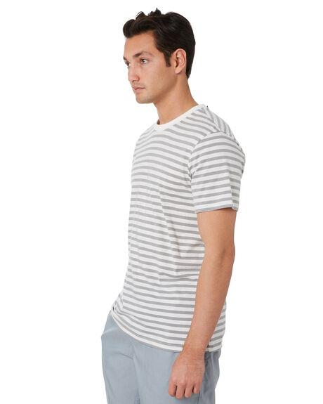 WHITE MENS CLOTHING GLOBE TEES - GB02001003WHT