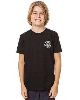 BLACK KIDS BOYS SPITFIRE TEES - 51010548ABLK