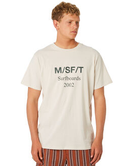 WARM WHITE MENS CLOTHING MISFIT TEES - MT092001WRMWH
