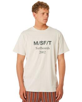 WARM WHITE MENS CLOTHING MISFIT TEES - MT092001WRMWH
