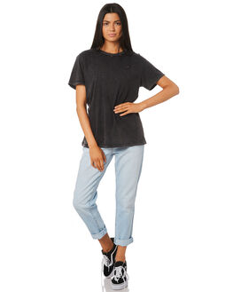 BLACK ACID WOMENS CLOTHING THE PEOPLE VS TEES - MOTHWTEE-BKA