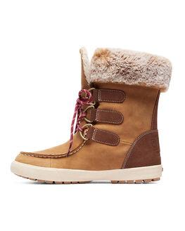 TAN BOARDSPORTS SNOW ROXY BOOTS + FOOTWEAR - ARJB700582-TAN