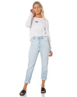 WHITE WOMENS CLOTHING HURLEY TEES - AJ3628-100