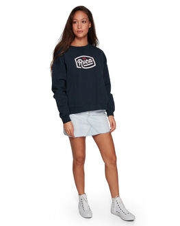 NEW NAVY WOMENS CLOTHING RVCA JUMPERS - RV-R207154-NNV