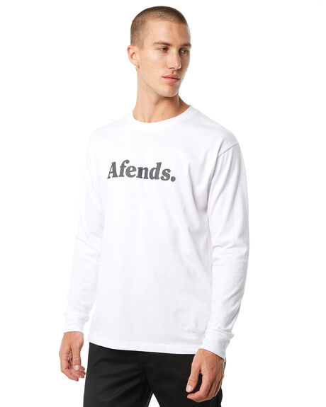 WHITE MENS CLOTHING AFENDS TEES - M181067WHT