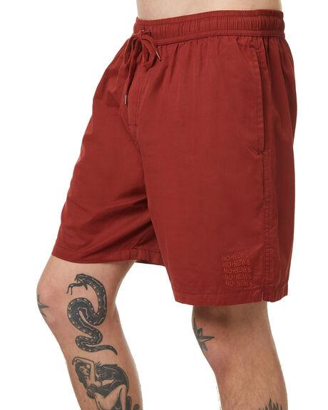 WINE MENS CLOTHING NO NEWS BOARDSHORTS - N5174231WIN