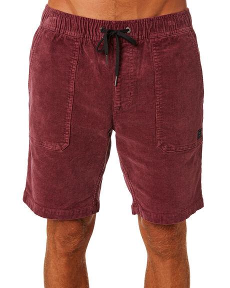 BURGUNDY MENS CLOTHING BILLABONG SHORTS - 9571732BURG