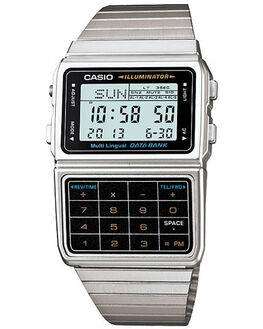SILVER MENS ACCESSORIES CASIO WATCHES - DBC611-1D9SIL
