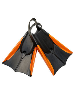 BLACK ORANGE BOARDSPORTS SURF NMD BODYBOARDS LEASHES - N19F2BLKOR