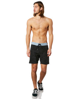 BLACK MENS CLOTHING VOLCOM BOARDSHORTS - A0841803BLK