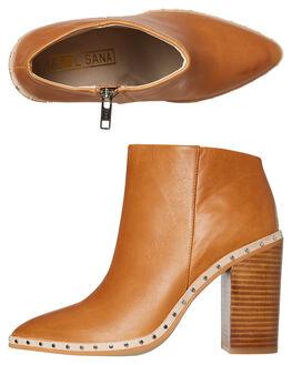 TAN WOMENS FOOTWEAR SOL SANA BOOTS - SS191W308TAN