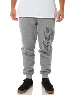 GREY HEATHER MENS CLOTHING ZOO YORK PANTS - ZY-MPA8183GRYH