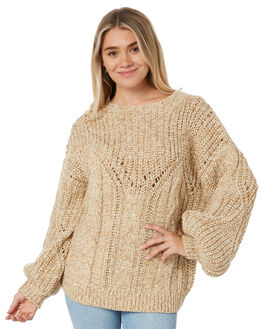 CORNSTALK WOMENS CLOTHING RUSTY KNITS + CARDIGANS - CKL0378CNL
