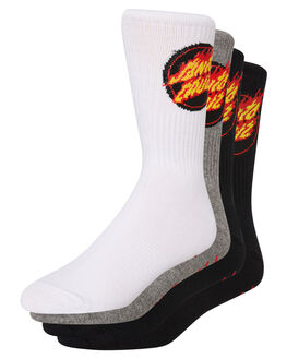 ASSORTED MENS CLOTHING SANTA CRUZ SOCKS + UNDERWEAR - SC-MZA9202ASST