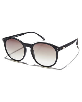BLACK RUBBER WOMENS ACCESSORIES MINKPINK SUNGLASSES - MNP1808229BLKR