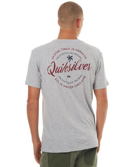 ATHLETIC HEATHER MENS CLOTHING QUIKSILVER TEES - EQYZT04514SGRH