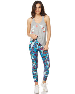PURPLE MULTI WOMENS CLOTHING THE UPSIDE PANTS - UPL1415PRMLT