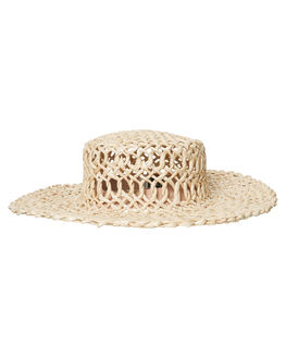 STRAW WOMENS ACCESSORIES RHYTHM HEADWEAR - ACC00W-HW06STR