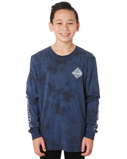 NAVY KIDS BOYS RIP CURL TOPS - KTEVQ20049