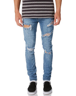 SMASHED BLUE OUTLET MENS INSIGHT JEANS - 1000067368SMBLU