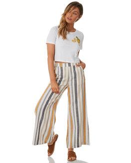 STRIPE WOMENS CLOTHING TIGERLILY PANTS - T382375STR