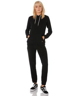 BLACK WOMENS CLOTHING VOLCOM JUMPERS - B3111801BLK