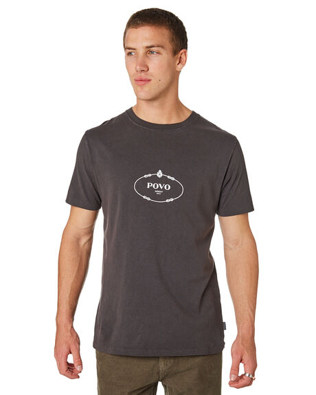 BLACK MENS CLOTHING INSIGHT TEES - 5000003626BLK