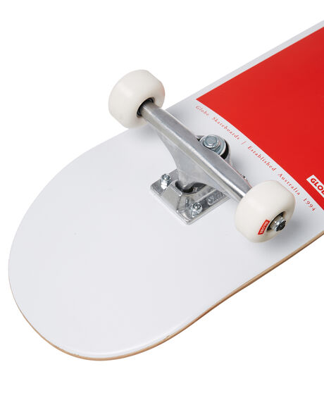 WHITE RED BOARDSPORTS SKATE GLOBE COMPLETES - 10525401WHTRE