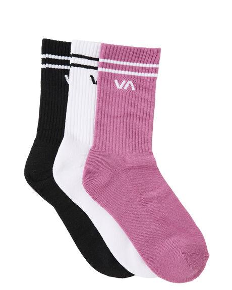 MULBERRY WOMENS CLOTHING RVCA SOCKS + UNDERWEAR - R215603BMUL