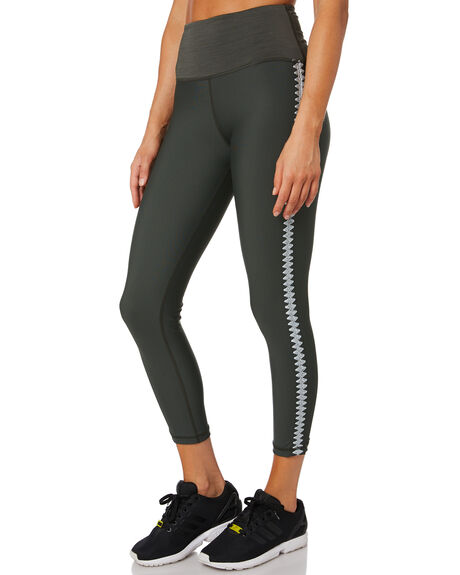 GREEN WOMENS CLOTHING THE UPSIDE ACTIVEWEAR - USW420038GRN