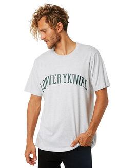 SILVER MARLE MENS CLOTHING LOWER TEES - LO18Q4MTS09SLVML