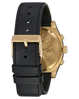 ALL GOLD BLACK MENS ACCESSORIES NIXON WATCHES - A1164-510
