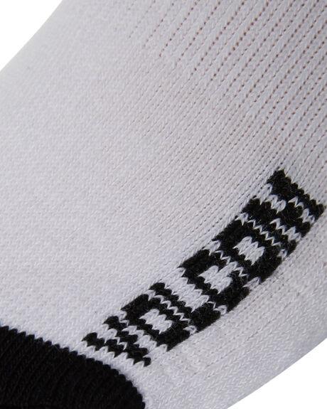 WHITE MENS CLOTHING VOLCOM SOCKS + UNDERWEAR - D6321800WHT
